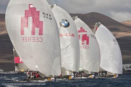 09 12 2008 - Puerto Calero (Lanzarote, Islas Canarias, ESP)  - RC 44 World Championsship - RC 44 Puerto Calero Gold Cup - Training