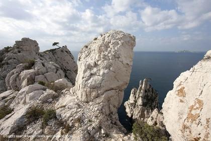 20 03 2009 - Marseille (FRA, 13) - Les Calanques - Pic de l'Eissadon and devenson cliffs