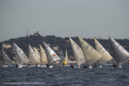 14 02 2014,  Cannes (FRA,06), FINN Cannes International Sailing week