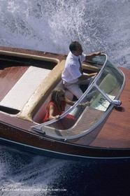 Classic motor yachts, runabouts