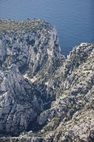 11 03 2009 - Marseille (FRA, 13) - Les Calanques - Vallon d'En Vau et Brèche de Castelviel