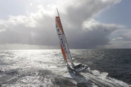 02 10 2008 - Lorient (FRA,56) - Vendée Globe 2008 - Foncia - Michel Desjoyeaux