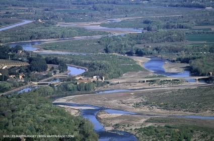 Puy Sainte Reparade - EDF Channel - Durance river
