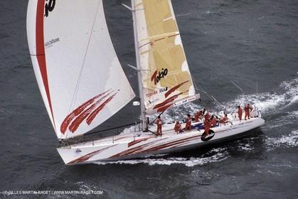 Whitbread, skipper Chris Dickson