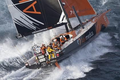 19 11 2014, Cape Town (ZAF), Volvo Ocean Race 2014-15, Team Alvimedica, Start Leg 2