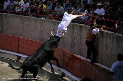 bull games in Clarensac (Gard)
