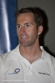 27 01 2009 - Auckland (NZL) -  Louis Vuitton Pacific Series - Draw for pairings - Ben Ainslie
