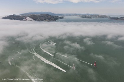 18 08 2013 - San Francisco (USA,CA) - 34th America's Cup - Louis Vuitton Cup Final Day 2