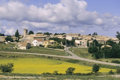 France, Provence, Haute Provence, Puimichel