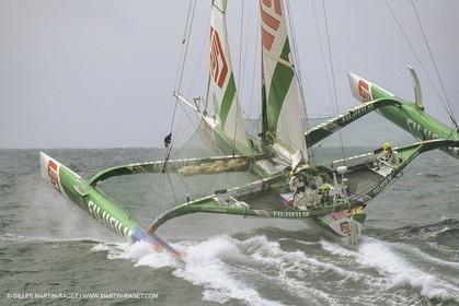 Yacht Racing, Multihull, ORMA 60, Loick Peyron, Fujicolor