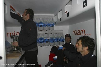 La Trinité   Mer - Orange II 1st sea trials - Bruno Peyron