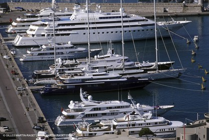 Antibes - Billionaires' dockside