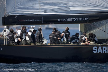 23 05 2010 - La Maddalena (ITA, Sardinia) Louis Vuitton Trophy - BMW ORACLE Racing - Racing Day 2