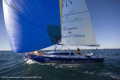 15 02 2007 - La Grande Motte (FRA) - Onedesign Figaro II - Thierry Duprey du Vorsent (Domaine de Monts d'Arbois)