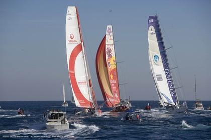 11 11 2007 - Barcelona (Spain) -  Barcelona World Race 2007 - Start