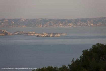 10 09 2009 - Marseille (FRA, 13) - Les Calanques - Chateau d'if et Côte bleue