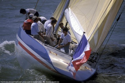 America's Cup, Fremantle 1987, CHallenge France