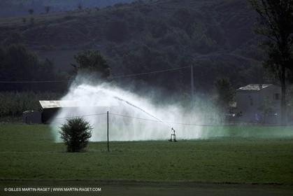 intense watering