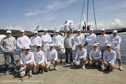 08 07 2008 - Valencia (ESP) - 33rd America's Cup - BMW ORACLE Racing