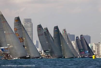 06 12 2010 - Miami (USA, FLA) - 2010 RC 44 World Champîonship - Oracle RC 44 Cup Miami - Day 6 - Fleet racing