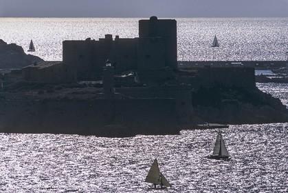 France, Provence, Les Calanques & Iles de Marseille, Chateau d'If