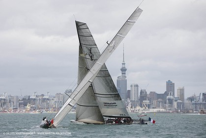30 01 2009 - Auckland (NZL) -  Louis Vuitton Pacific Series -  Racing Day 1