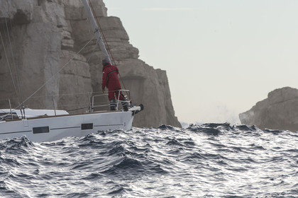 08 01 2016, Marseille (FRA, 13), Cruising in winter in the Calanques