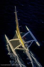 Sailing, Offshore Racing, Route du Rhum 1990, Fujichrome, Mike Birch