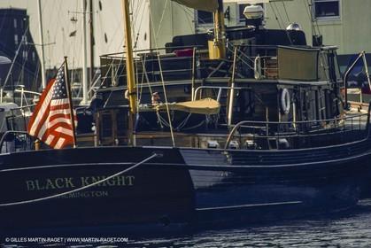 Classic Yachts, Classic Motor yachts, Black Knight