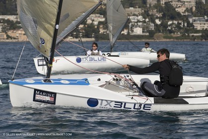 14 02 2014,  Cannes (FRA,06), FINN Cannes International Sailing week - Johnatan Lobert (FRA)