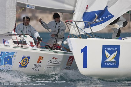 10 03 2009 - Marseille (FRA, 13) - Marseille International Match Race 2009 - (World Match racing Tour 2009) - Training day