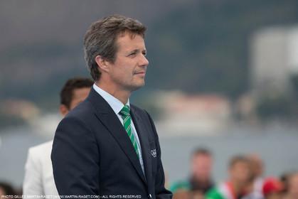 16 08 2016, Rio de Janeiro (BRA), 2016 Olympic Games, Sailing, Prince Frederik de Danemark