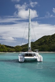 31 01 2012 - Marie-Galante (West Indies) - Fountaine-Pajot -  Sanya 57