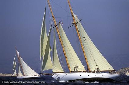 Lelantina - Classic yachts - 2003 Voiles du Vieux Port