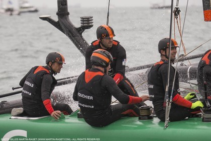 24 07 2015, Portsmouth (GBR), 35th America's Cup, Louis Vuitton America's Cup World Series Portsmouth 2015, Official Training 2