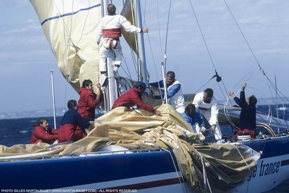Sailing, Yacht Racing, 26th America's Cup Fremantle 1987, Challenge France