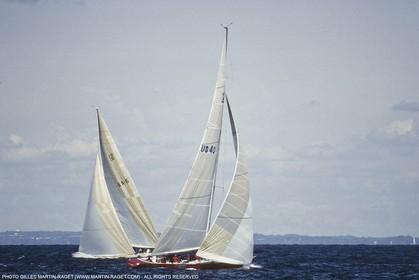 25th America's Cup, Newport (RI, USA) - Australia II Vs Liberty