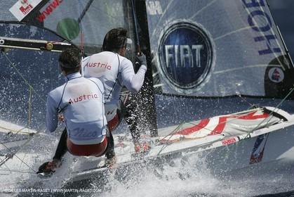 2005 Hyeres Sailing Week (SOF) - 49ers