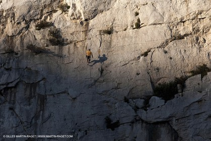 23 03 2009 - Marseille (FRA, 13) - Les Calanques - Morgiou - l'Abri côtier climbing area