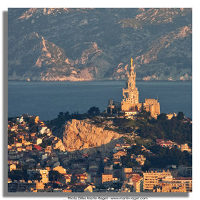 30 04 2009 - Marseille (FRA, 13) - Les Calanques - Marseille as seen from Mount Puget summit
