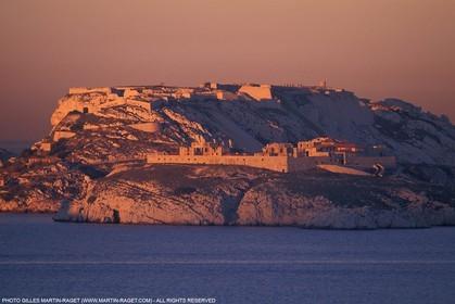 Frioul Island - Sainte Caroline Hospital