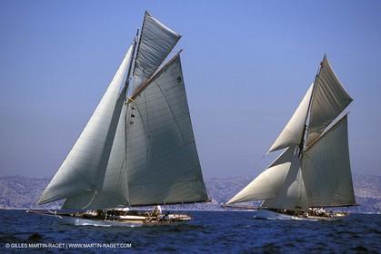 Iona - Partridge - Classic yachts - 2004 Voiles du Vieux Port