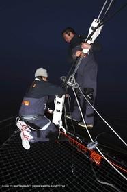 Orange II - Trophée Jules Verne 2004 - Vladimir Dzalda Lyndis