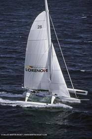 Yacht Racing, Multihull, ORMA 60, Francis Joyon, Eure et Loire