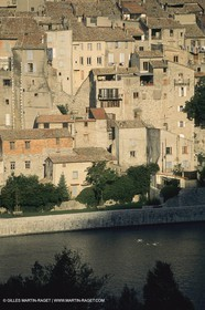 France, Provence, Haute Provence, Val de Durance, Durance river valley, Sisteron