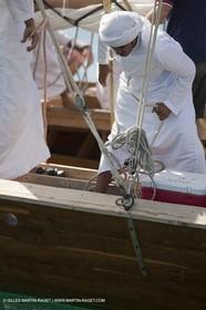 20 11 2010 - Dubai (UAE) - Dubai Louis Vuitton Trophy - Traditionnal dhow races for competing teams