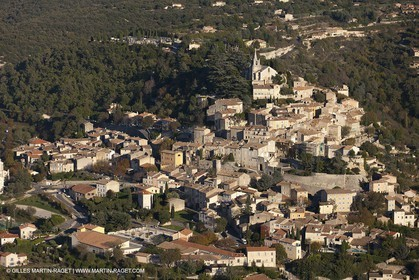 29 10 2012 - Bonnieux (FRA,84) - Luberon as seen from above