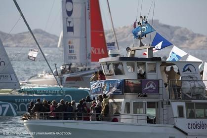 29 09 2012 - Marseille (FRA,13) - Alpari World Match Race Tour - Match Race France 2012 - Day 5 - Final Ian Williams (GBR) Vs William Tiller (NZL)
