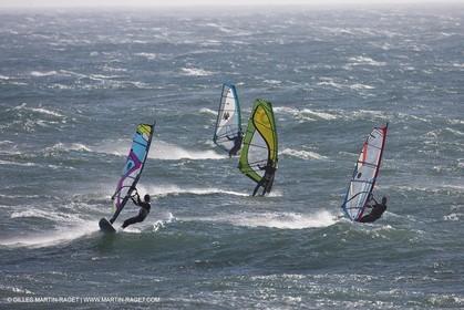 22 07 2011 - Cascais (POR) - 34th America's Cup - AC World Series - Cascais 2011 - Gincho, kite and windsurf spot near Cascais