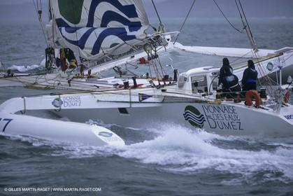 Sailing, Offshore Racing, Jules Verne Trophy, Lyonnaise des Eaux-Dumez